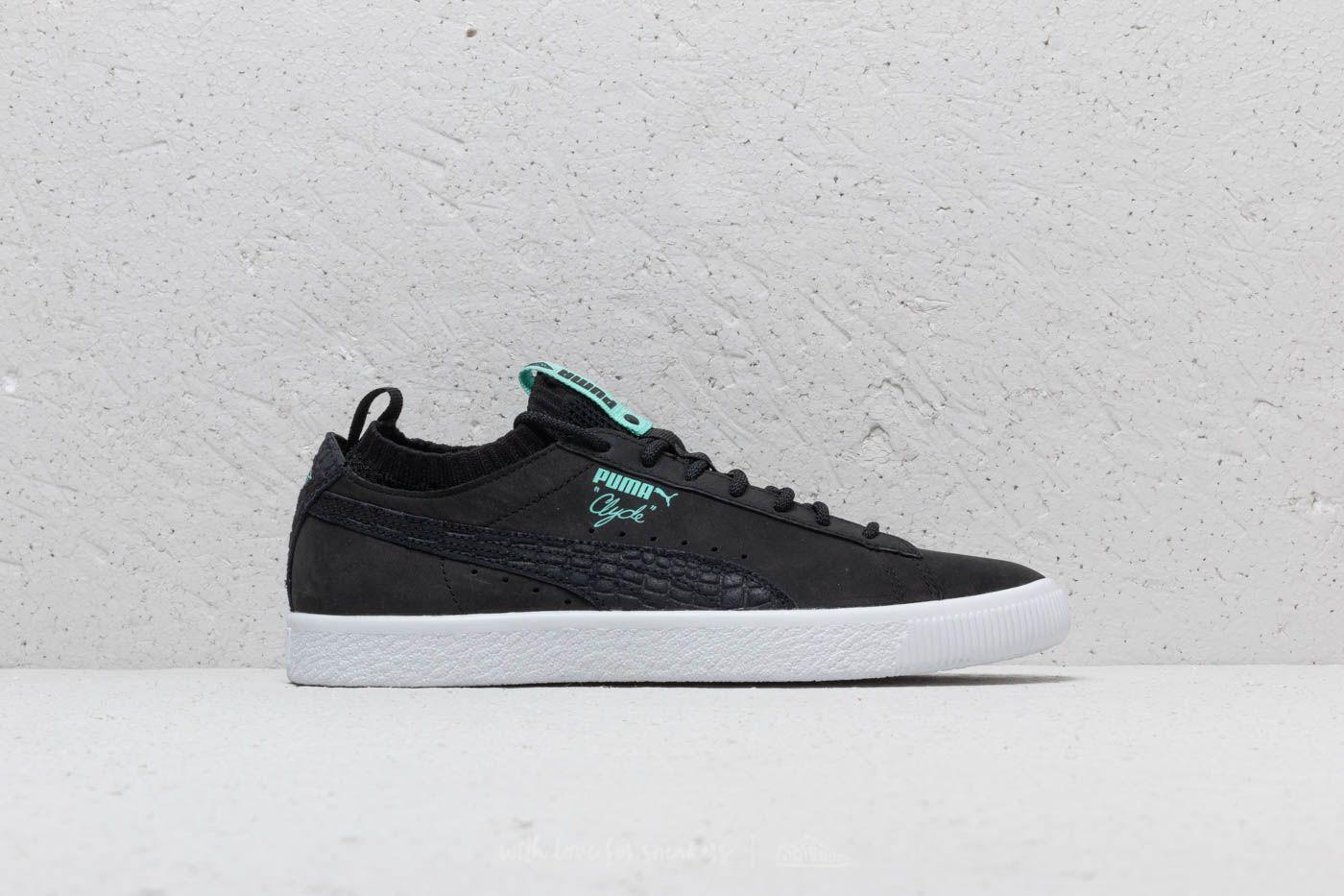 new style 4f5cd b0b54 Puma x Diamond Clyde Sock Low Puma Black/ Puma Black | Footshop