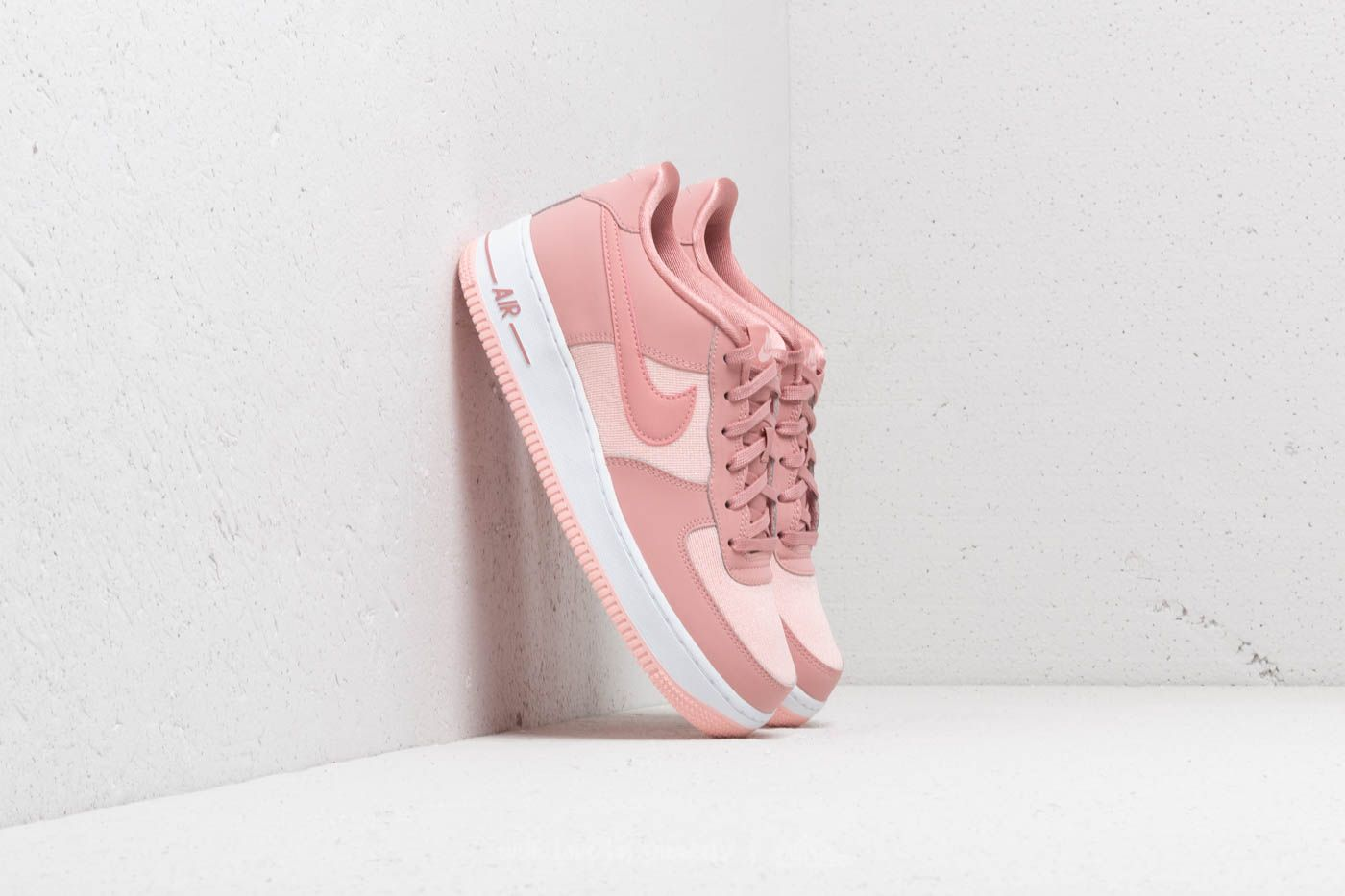 Nike Air Force 1 LV8 (GS) Rust Pink Rust Pink Storm Pink | Footshop