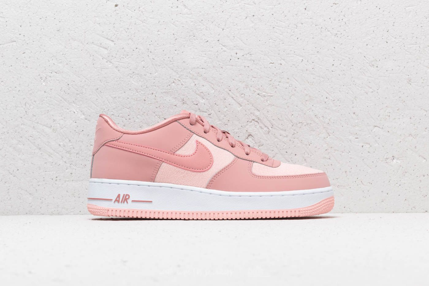 d18368e0803b Nike Air Force 1 LV8 (GS) Rust Pink  Rust Pink-Storm Pink   Footshop