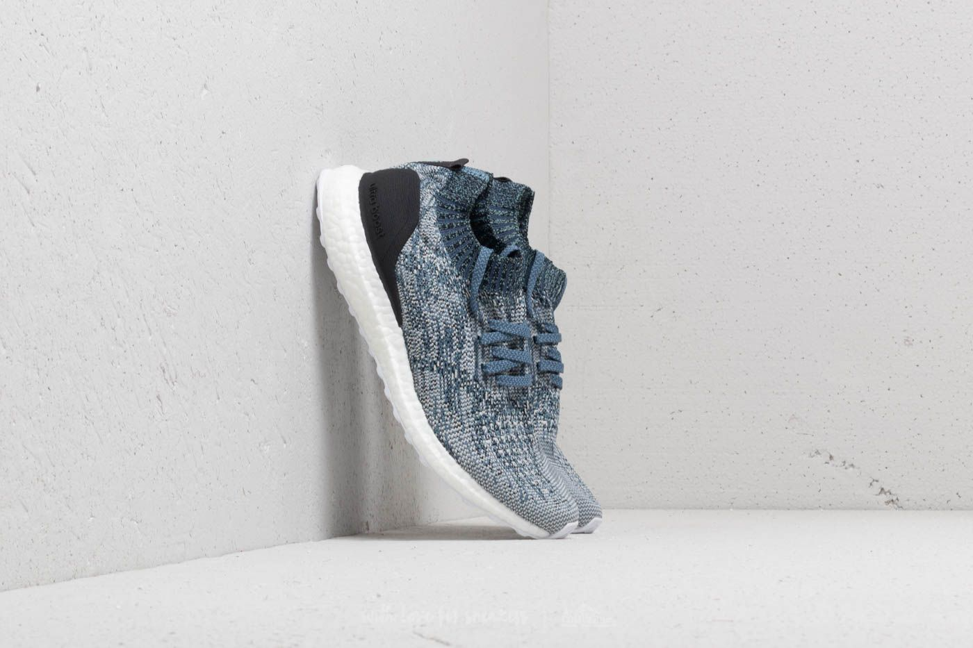 d20a329159f adidas UltraBOOST Uncaged Parley Raw Grey  Chalk Pearl  Blue ...