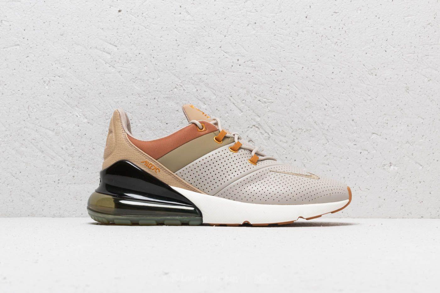 Nike Air Max 270 Premium String Desert Ochre   Footshop