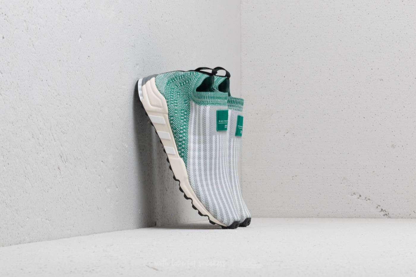 c5923be07e0d adidas EQT Support SK Primeknit Grey Two  Ftw White  Sub Green ...
