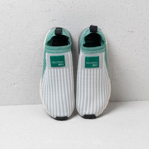 adidas EQT Support SK Primeknit Grey Two Ftw White Sub Green   Footshop