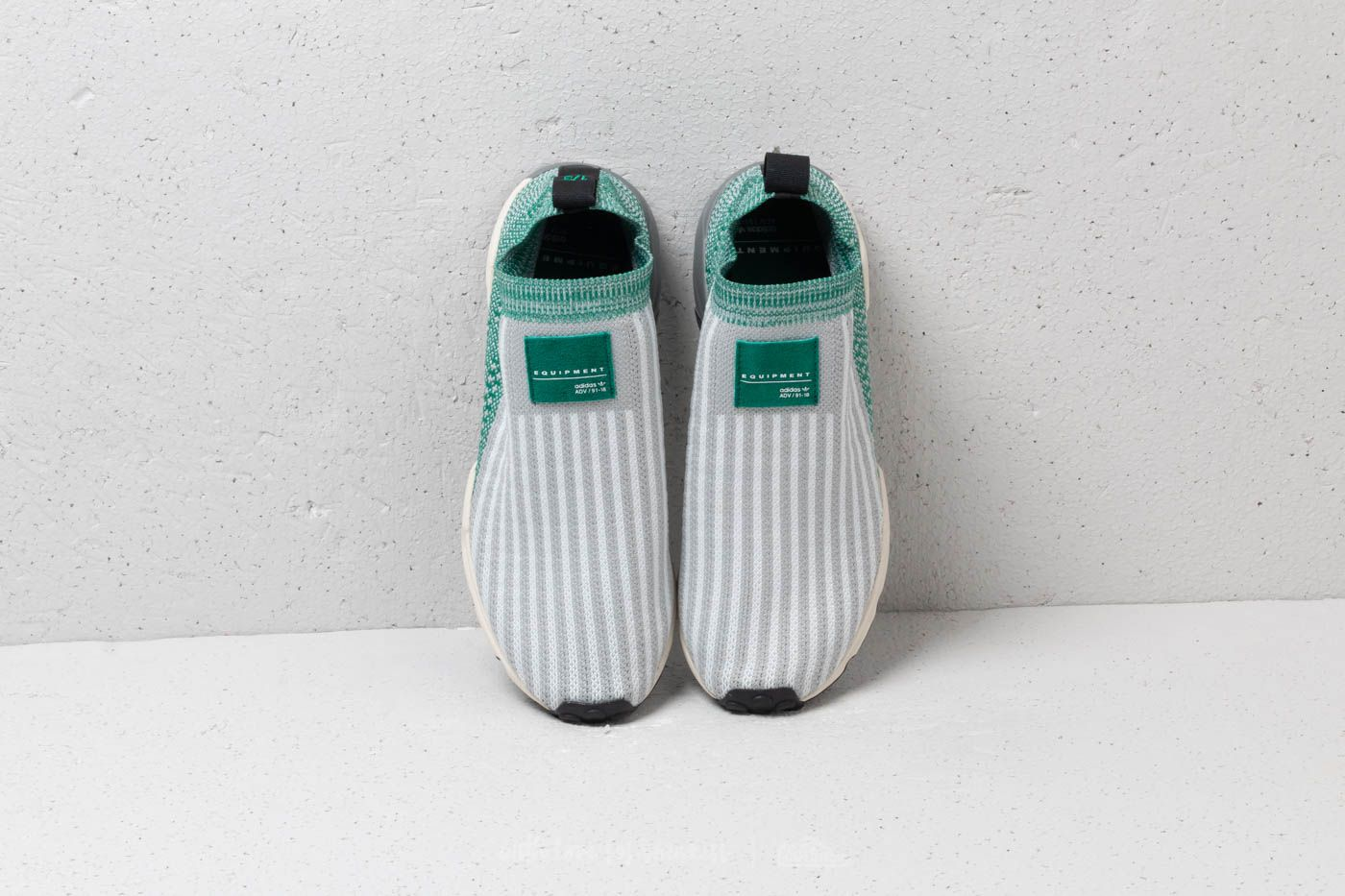 adidas EQT Support SK Primeknit Grey Two Ftw White Sub Green | Footshop