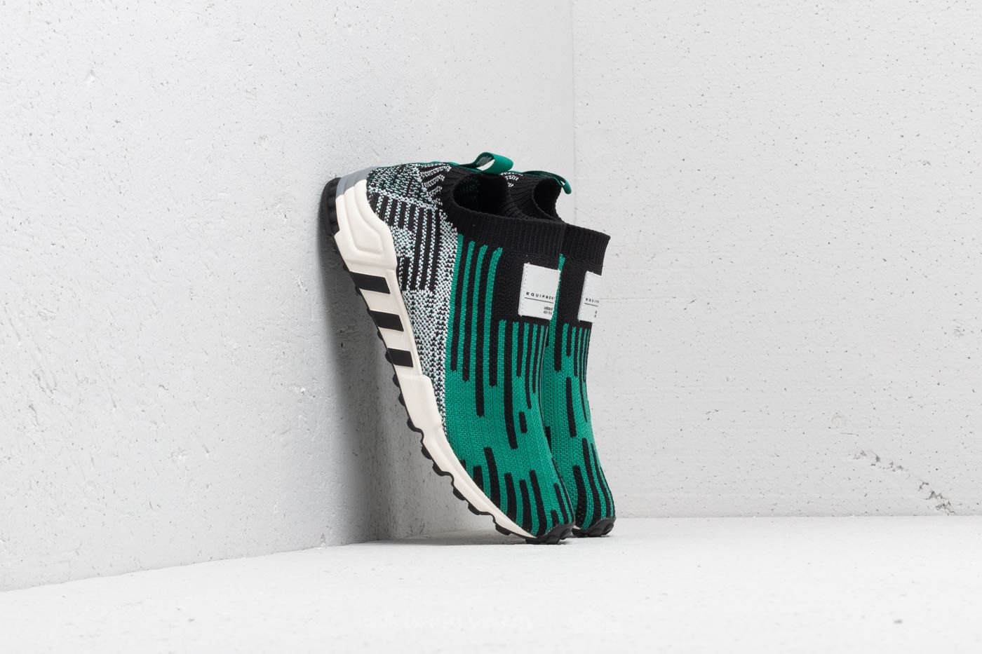 4bad37987b90 adidas EQT Support SK Primeknit Core Black  Sub Green  Ftw White at a great