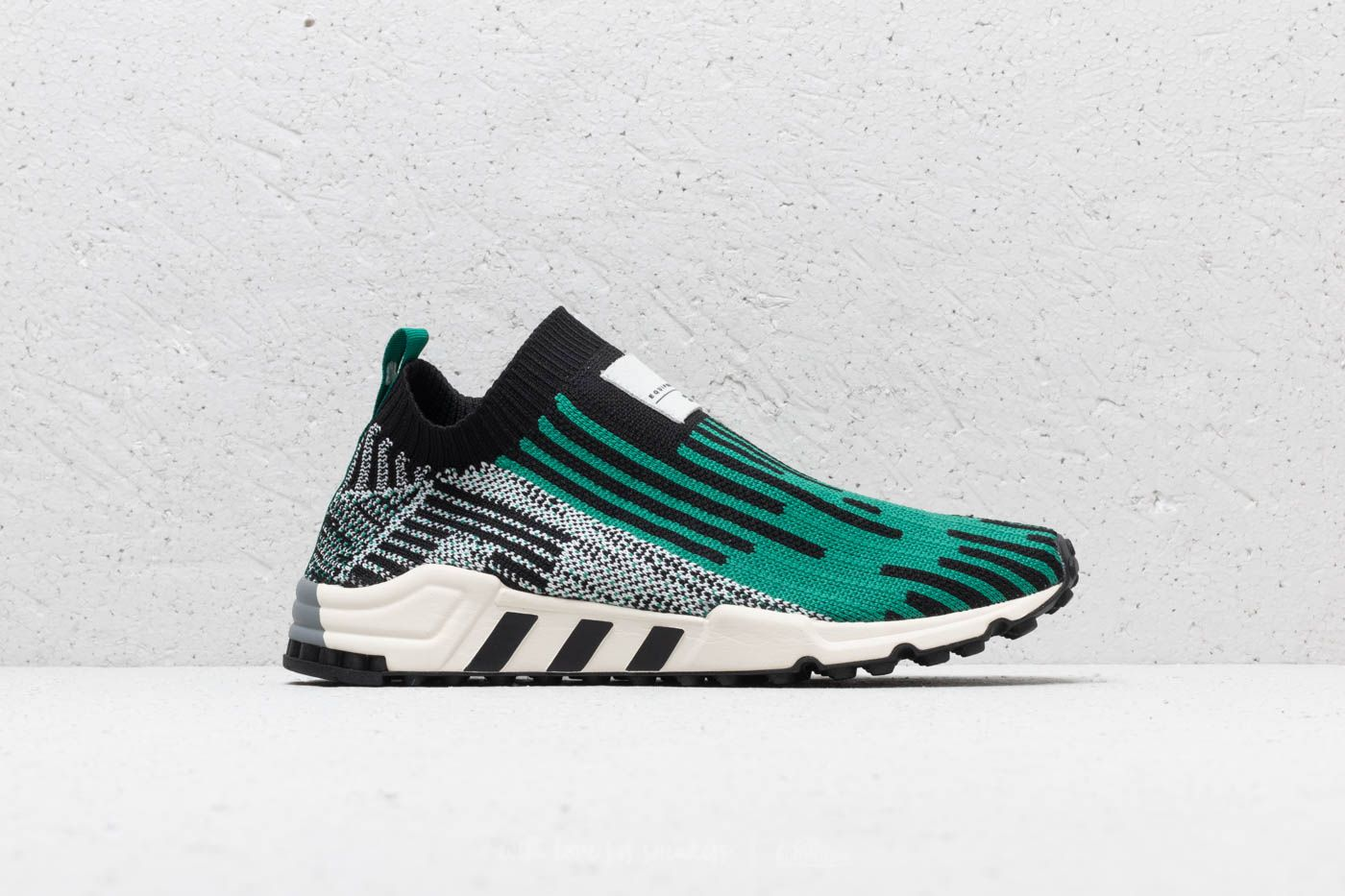 more photos 2a0ba 5e18f adidas EQT Support SK Primeknit Core Black Sub Green Ftw White at a great