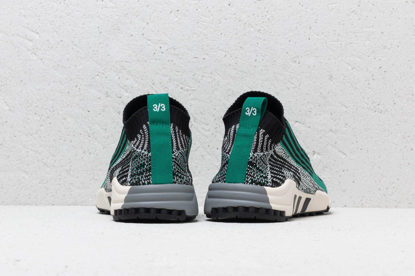 adidas EQT Support SK Primeknit Core Black Sub Green Ftw White   Footshop
