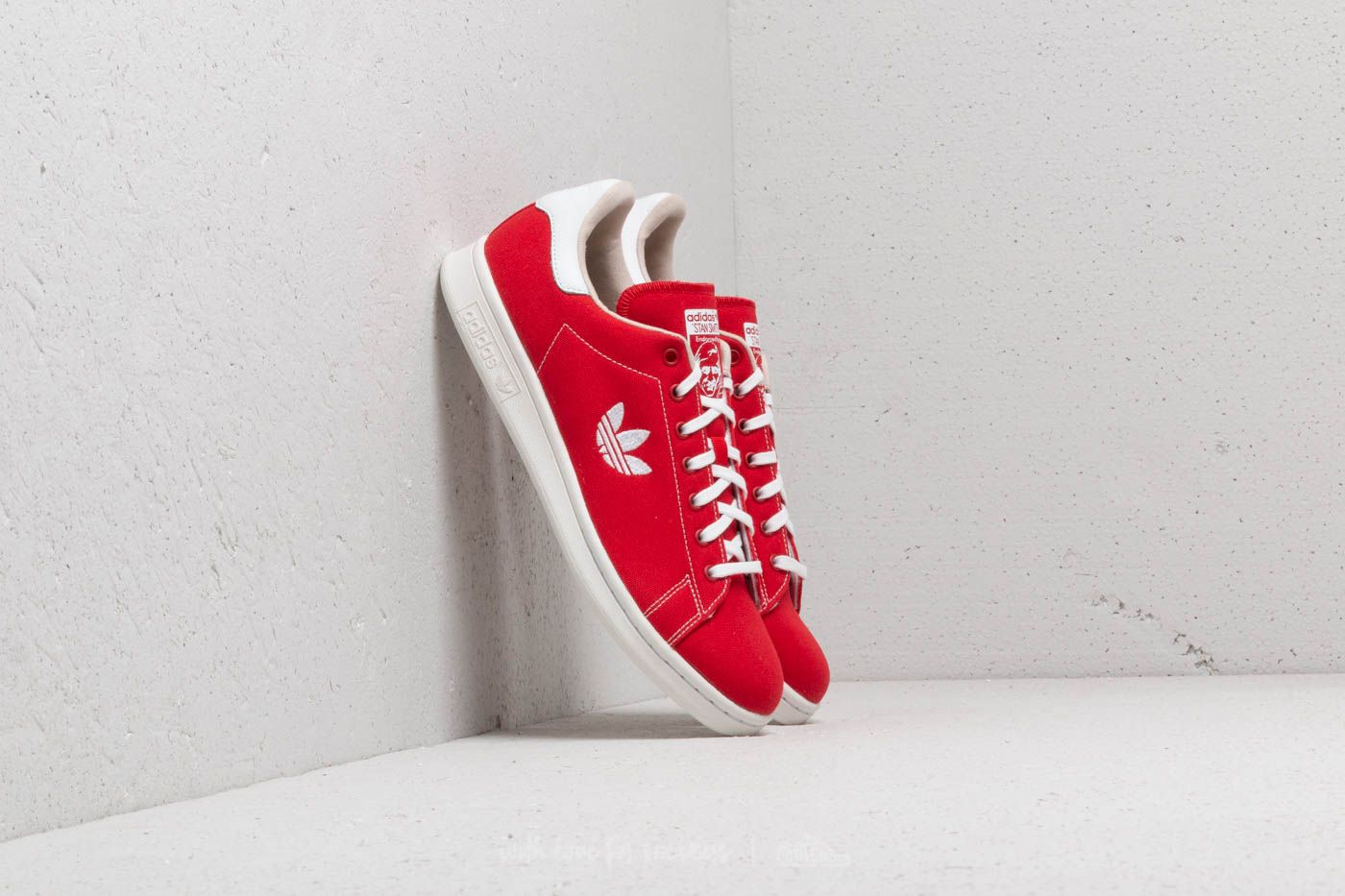 adidas Stan Smith Scarlet/ Ftw White/ Clear Brown