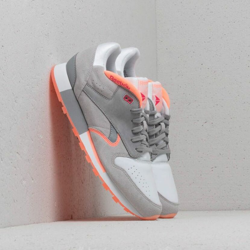 Reebok Classic Leather Urge White/ S Grey/ D Pink/ Pink EUR 45