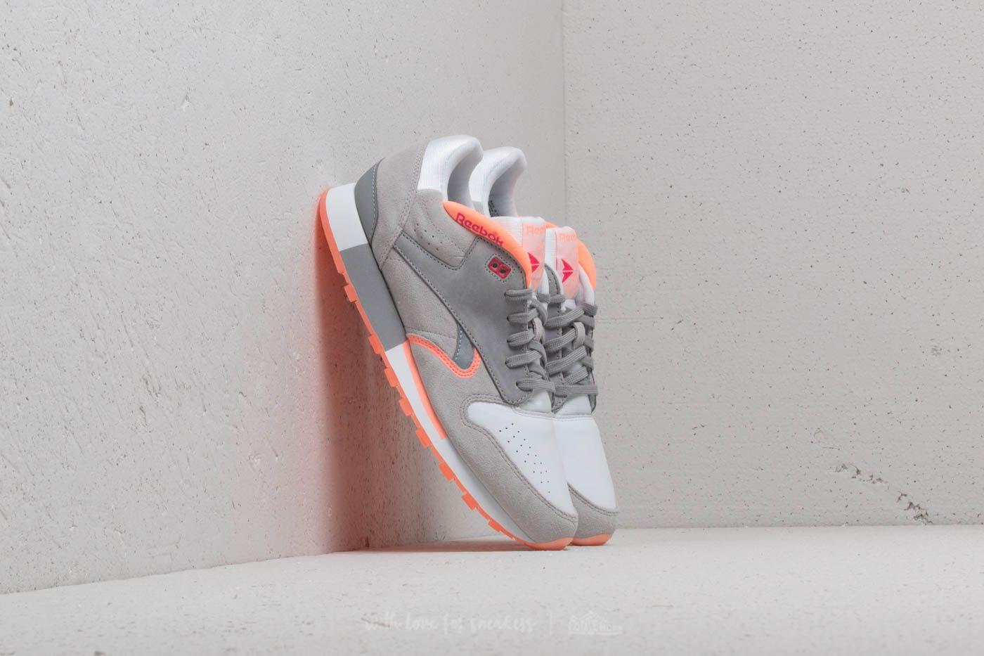 Reebok Classic Leather Urge White/ S Grey/ D Pink/ Pink za skvělou cenu 950 Kč koupíte na Footshop.cz