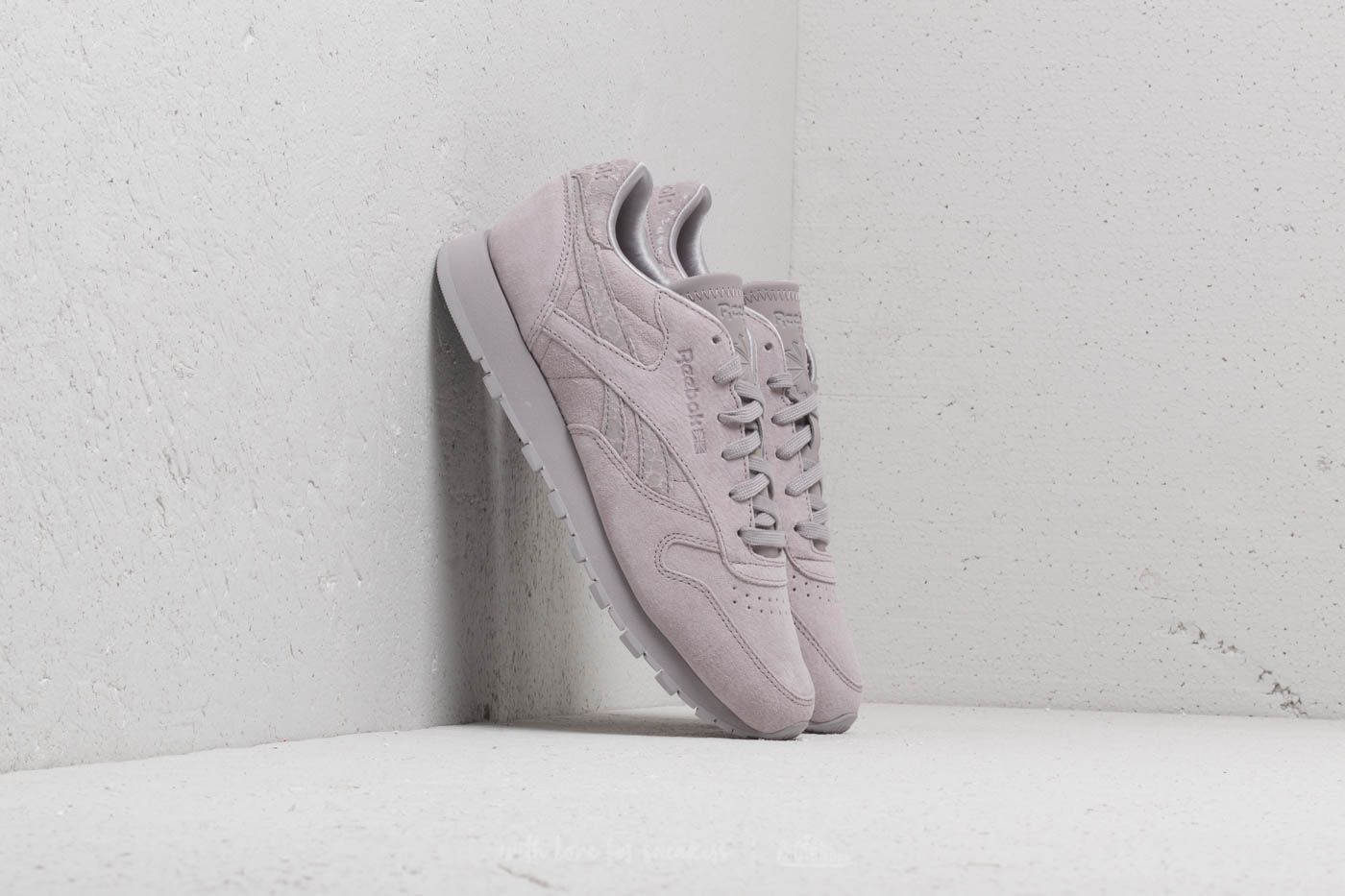 Women's shoes Reebok Classic Leather Whisper Grey
