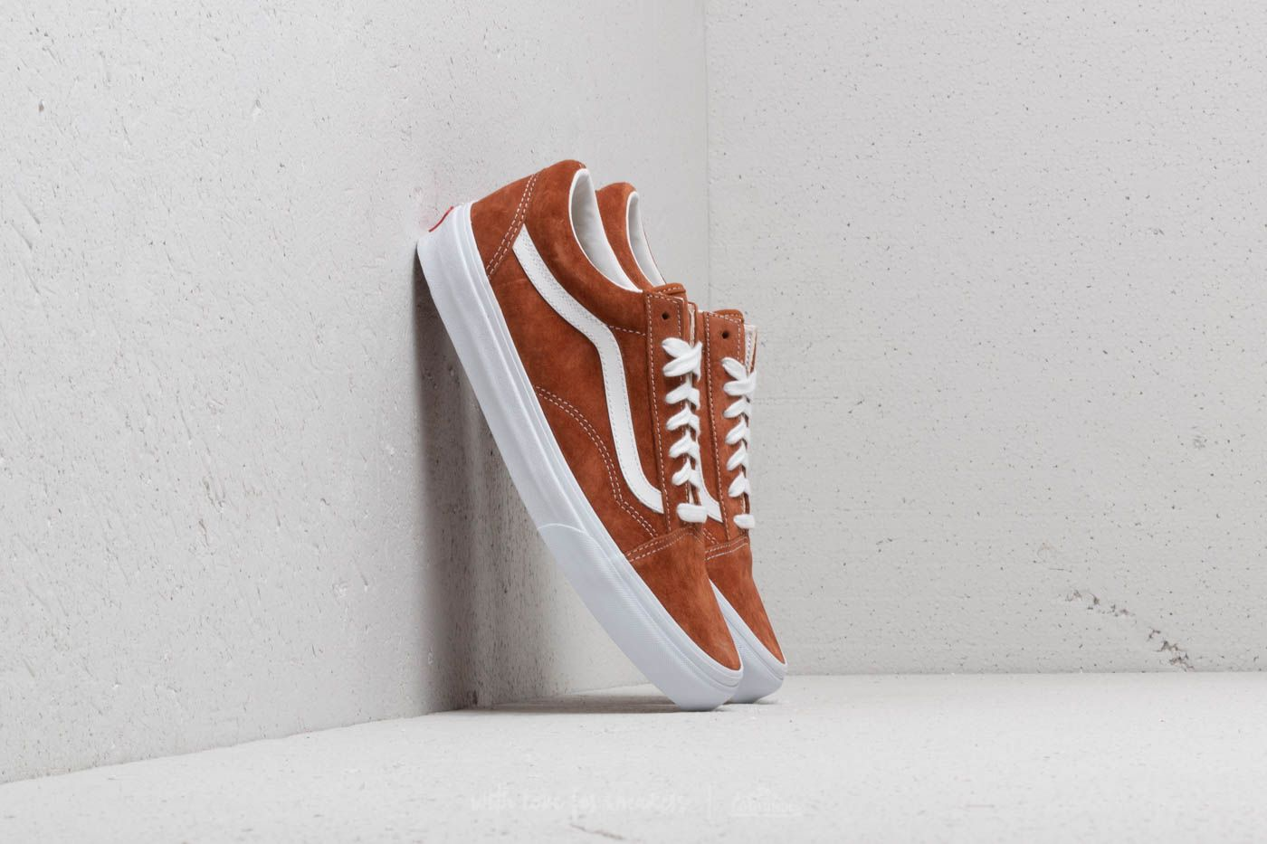 f775588509 Vans Old Skool (Pig Suede) Leather Brown
