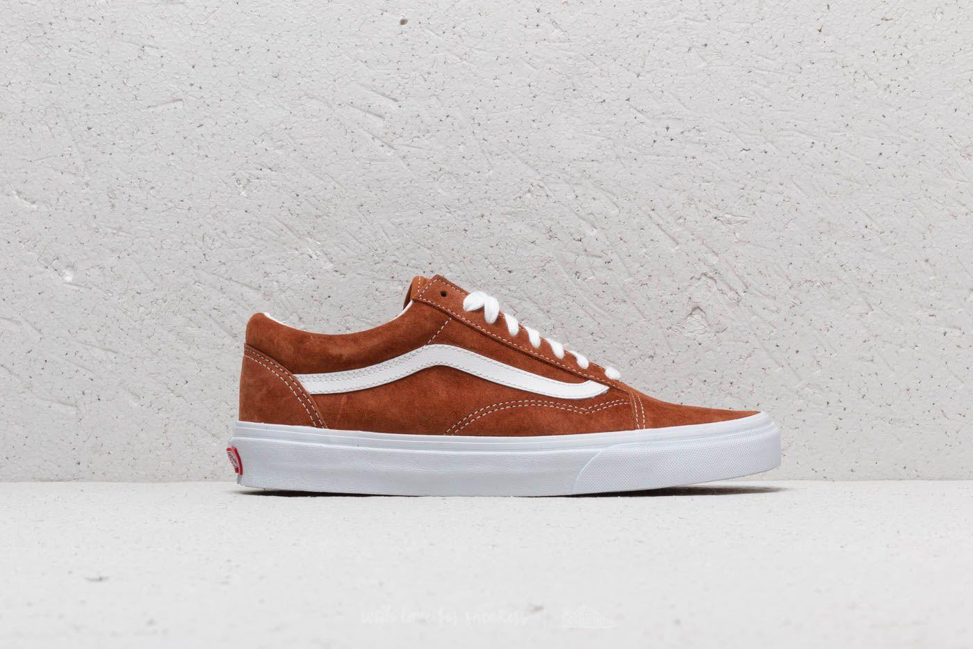 Vans Old Skool Brown Pig Suede Skate Shoes Zumiez  Footshop