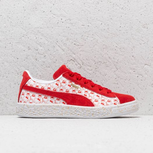 watch 19420 2ea3a Puma Suede Classic x Hello Kitty PS Bright Red-Bright Red | Footshop