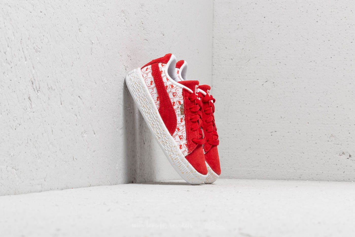 e17d302aea8064 Puma Suede Classic x Hello Kitty Inf Bright Red  Bright Red at a great price