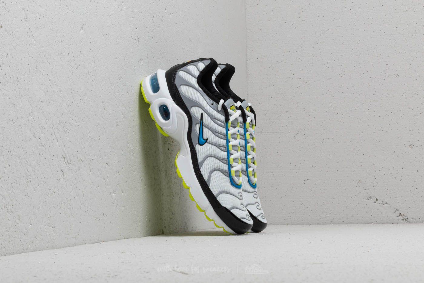 huge discount 9d67c e702d Nike Air Max Plus (GS) White Photo Blue-Cyber at a great