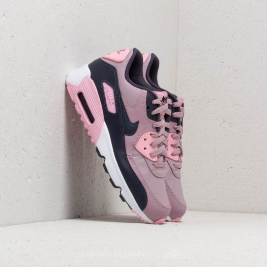 new style b3056 caf51 Nike Air Max 90 Leather (GS) Elemental Rose/ Gridiron-Pink ...