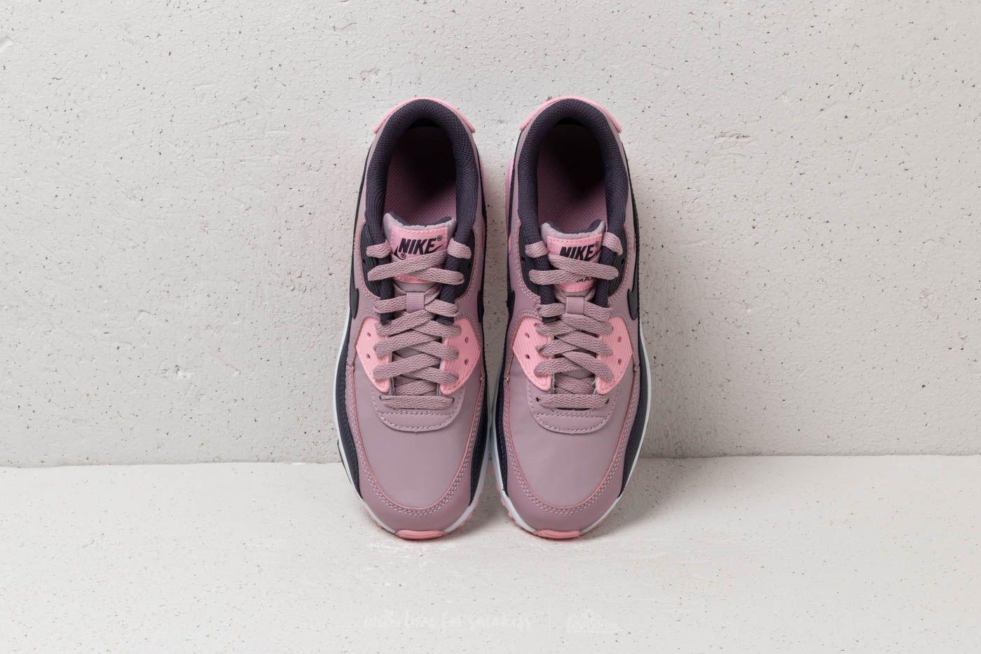 nouveau style 8d065 6cf9b Nike Air Max 90 Leather (GS) Elemental Rose/ Gridiron-Pink ...