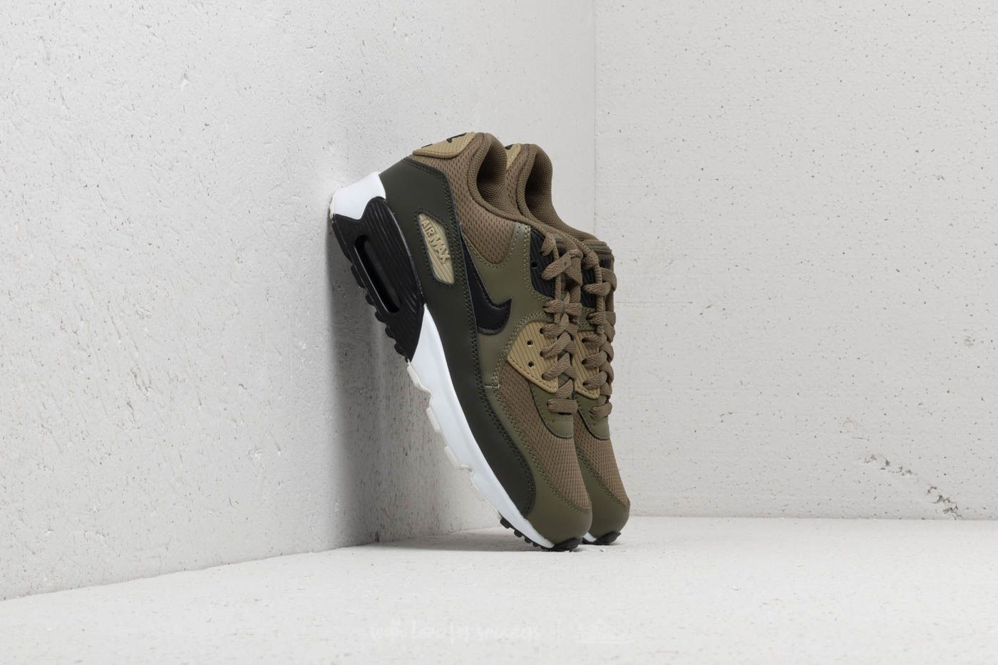 d02a8a2e63ba Nike Air Max 90 Mesh (GS) Medium Olive  Black-Sequoia