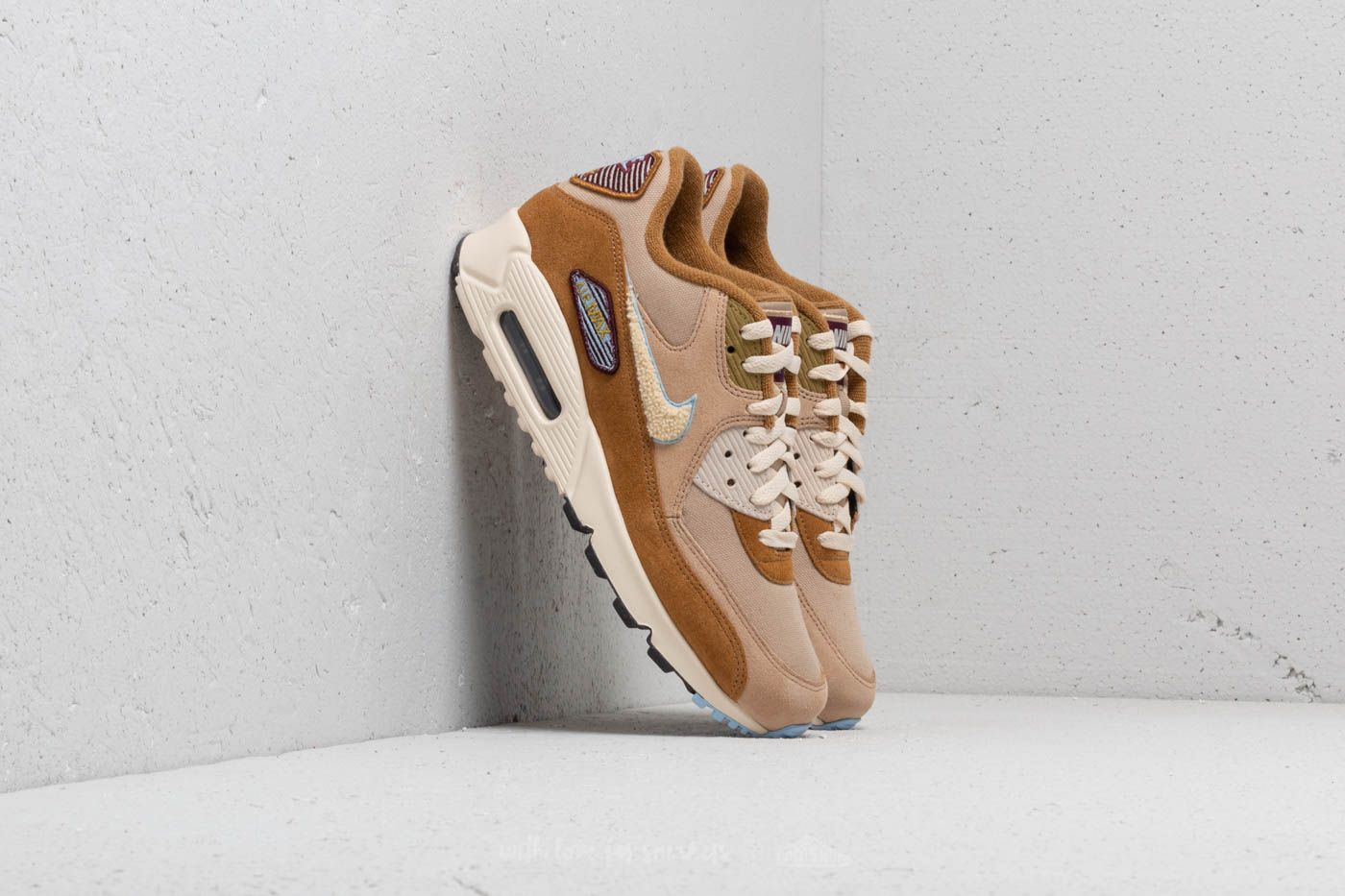 ffd77aa9a Nike Air Max 90 Premium SE Muted Bronze/ Light Cream | Footshop