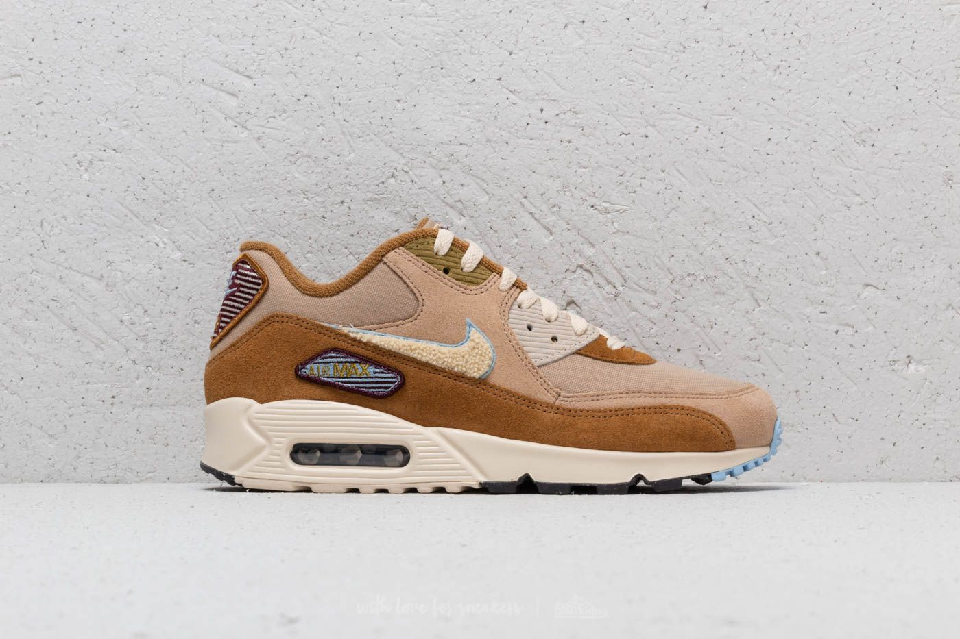 81d465ff4bd Nike Air Max 90 Premium SE Muted Bronze  Light Cream at a great price 100