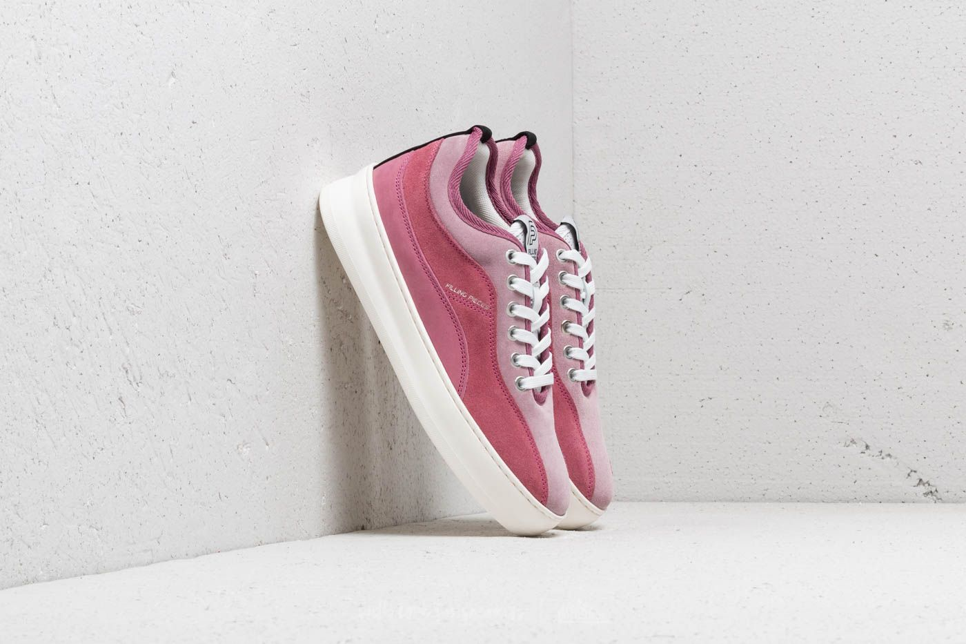 Chaussures et baskets femme Filling Pieces Low Triplet Plain Light Khumbu Pink