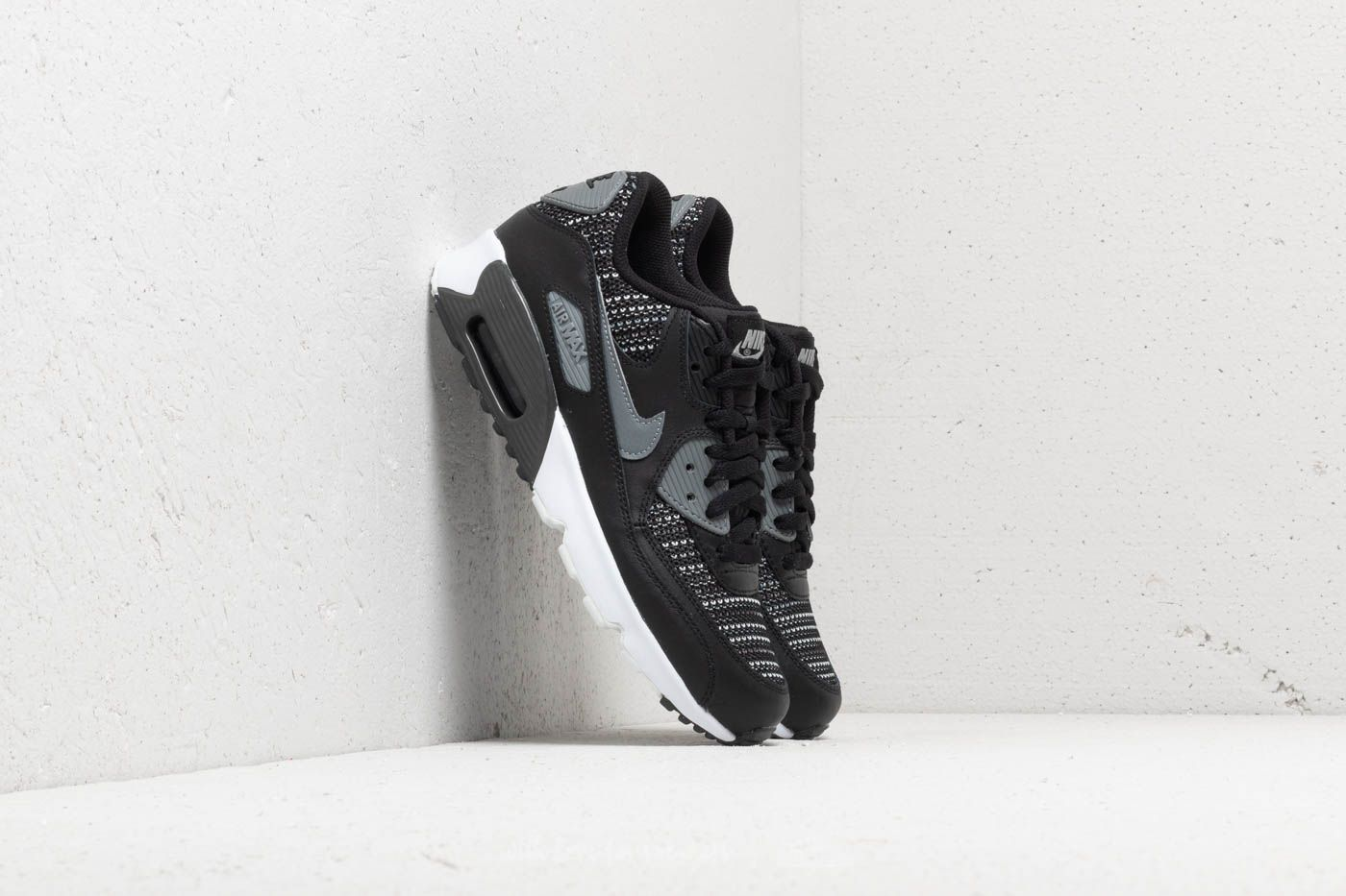 Nike Air Max 90 Mesh (GS) Black/ Cool Grey-Anthracite