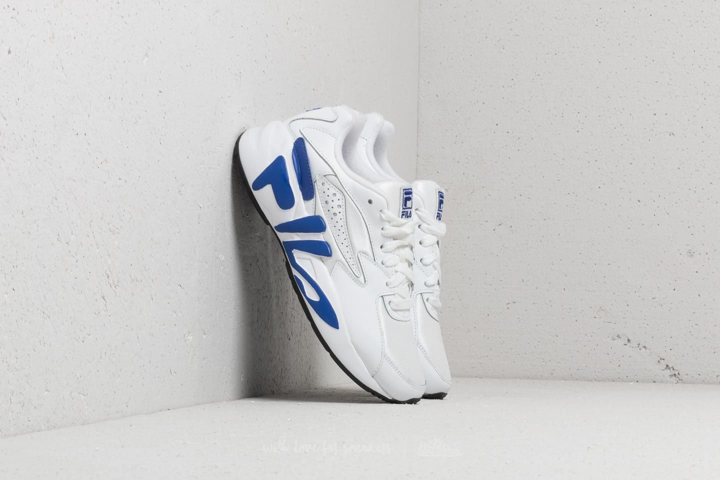 Scarpe e sneaker da donna Fila Mindblower White/ Royal Blue/ Black