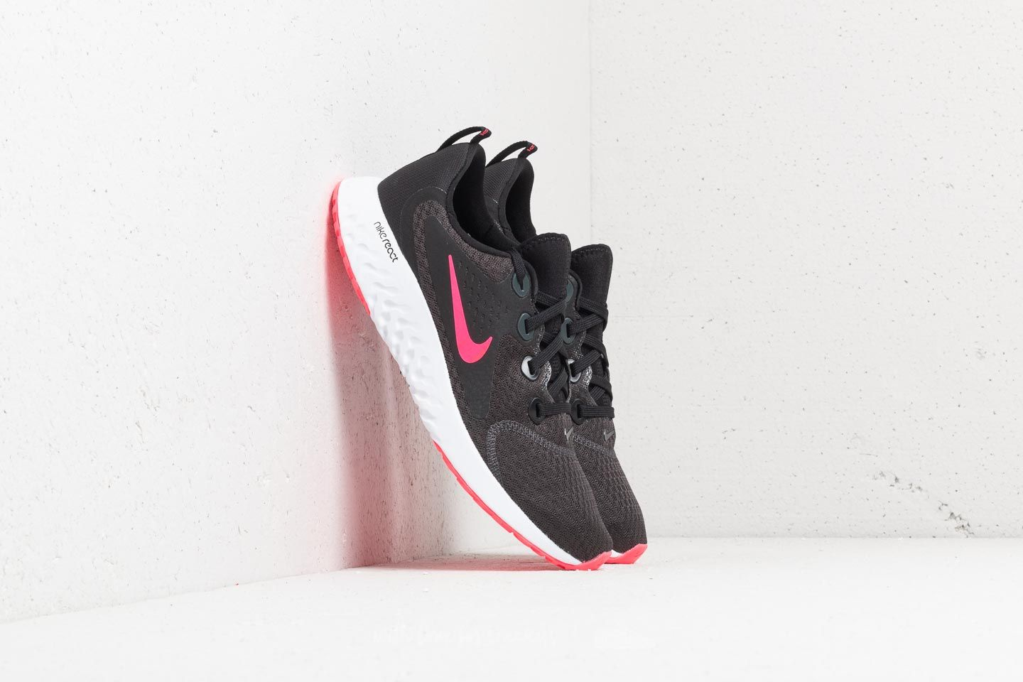 Nike Legend React (GS) Black/ Racer Pink-Anthracite