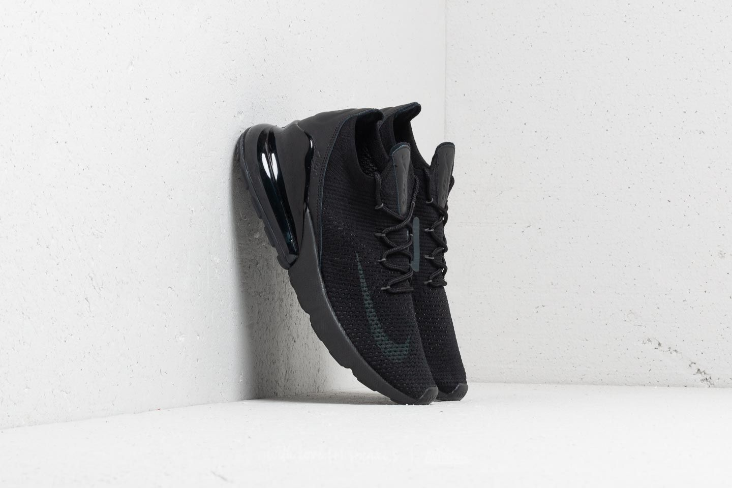 a7cac50407a8 Nike Air Max 270 Flyknit Black  Anthracite-Black