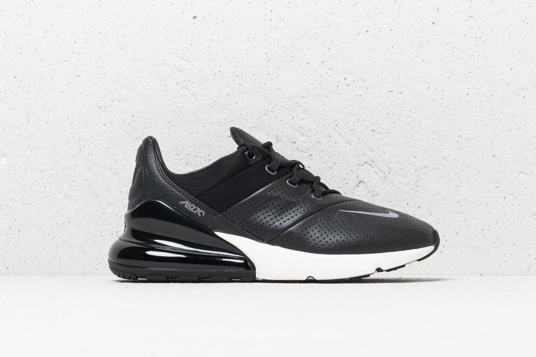 Nike Air Max 270 Premium Black/ Light Carbon-Sail | Footshop