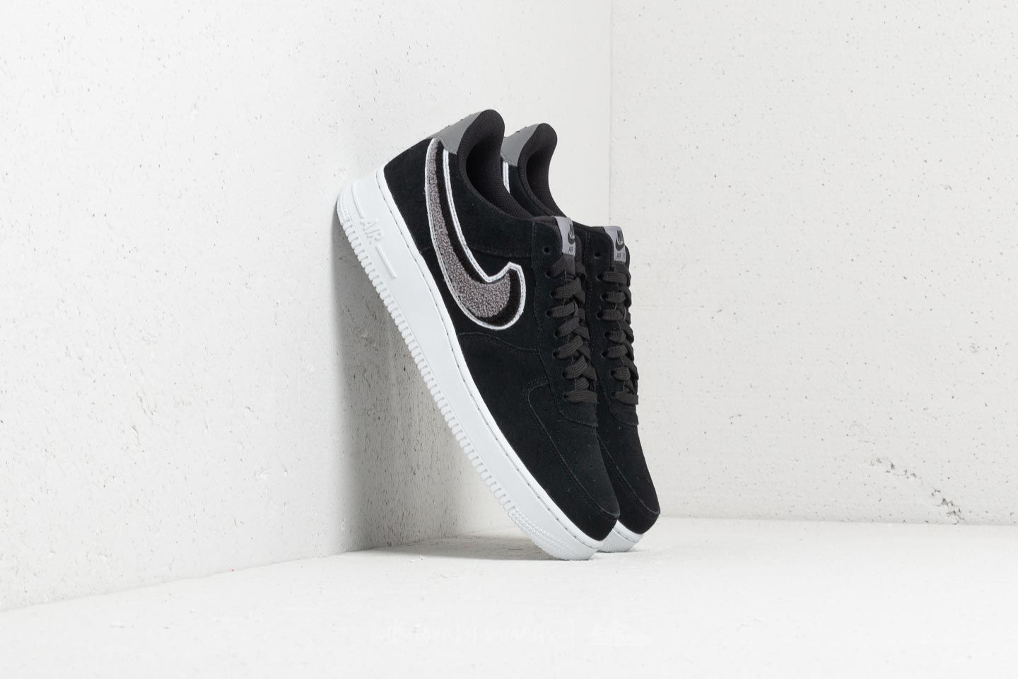 Nike Air Force 1 '07 Black Black White | Footshop