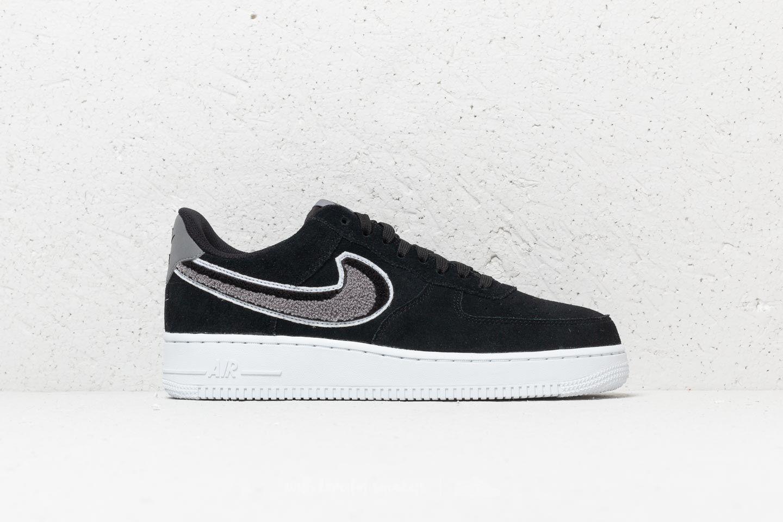 c7e62b754c19 Nike Air Force 1  07 LV8 Black  White-Cool Grey-White at