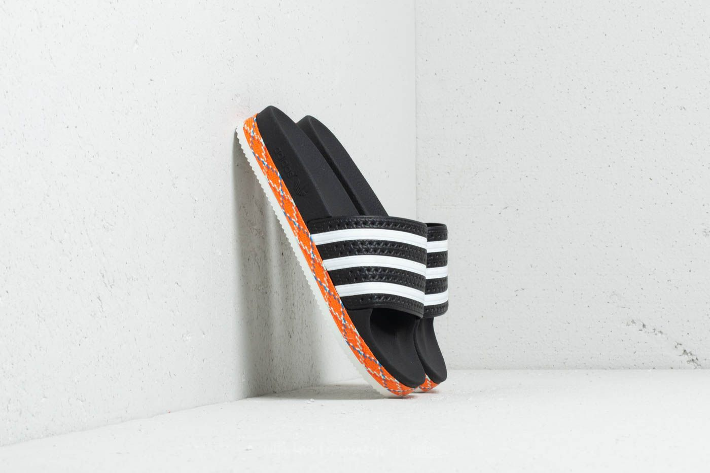 new appearance on sale separation shoes adidas Adilette New Bold W Core Black/ Ftw Whte/ Core Black | Footshop