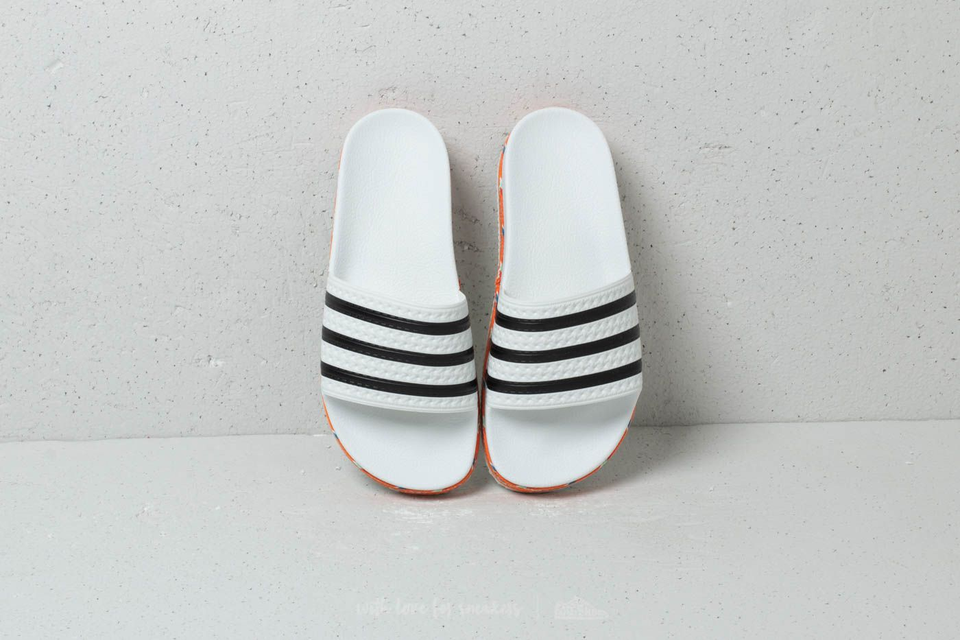 size 40 80879 5afb4 adidas Adilette New Bold W Ftw White CORE Black Ftw White at a great