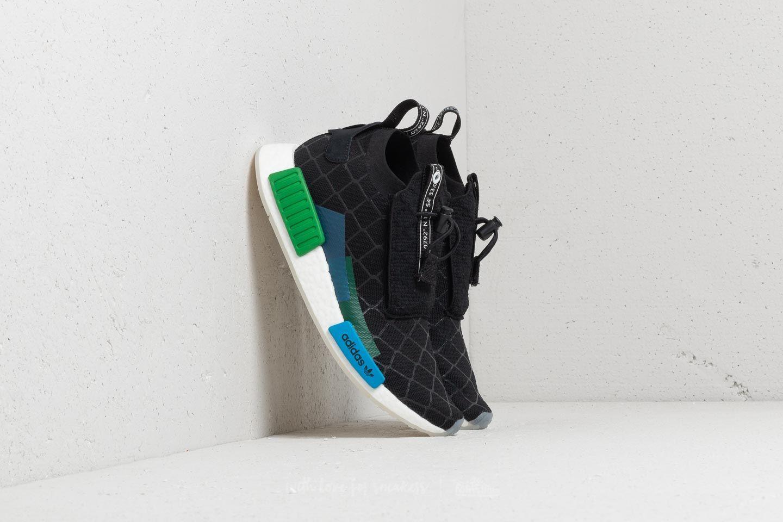 Încălțăminte și sneakerși pentru bărbați adidas Consortium x Mita NMD TS1 Primeknit Core Black/ White