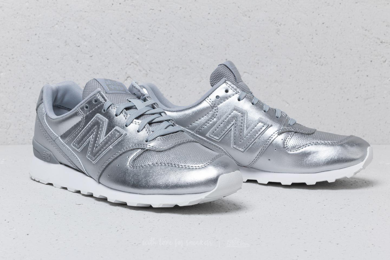 New Balance 996 Metallic Silver au meilleur prix 67 € Achetez sur Footshop 86aba8eefcff