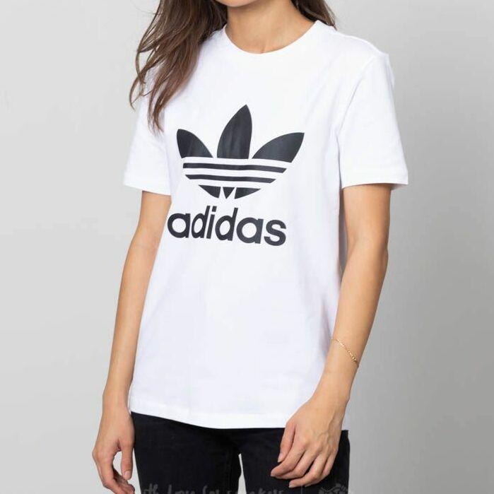 adidas Trefoil Tee White/ Black 38