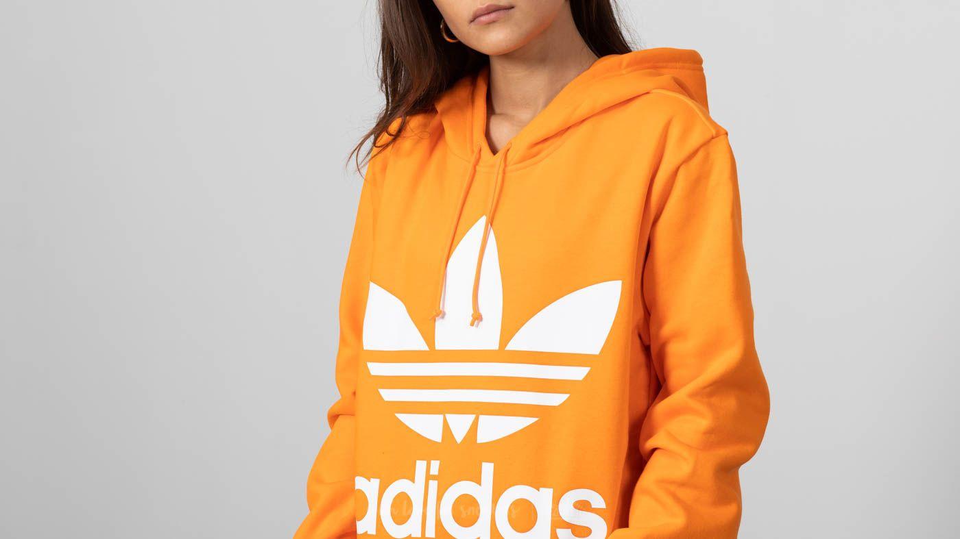adidas Boyfriend Trefoil Hoodie Bahia Orange | Footshop