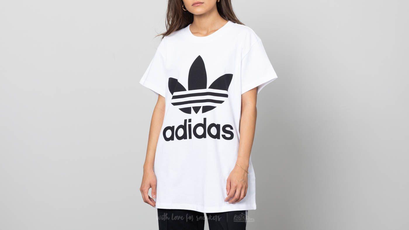 e8e266eb9 adidas Big Trefoil Tee White/ Black | Footshop