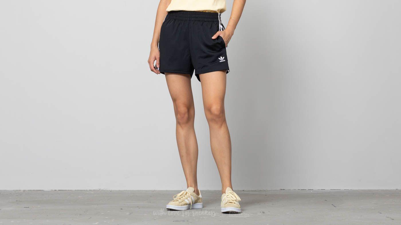 64d441f3 adidas 3 Stripes Shorts Black   Footshop