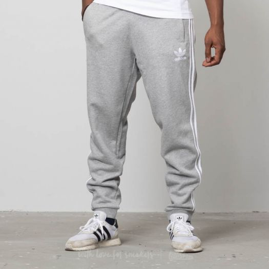 adidas 3-Stripes Pants Medium Grey Heather | Footshop