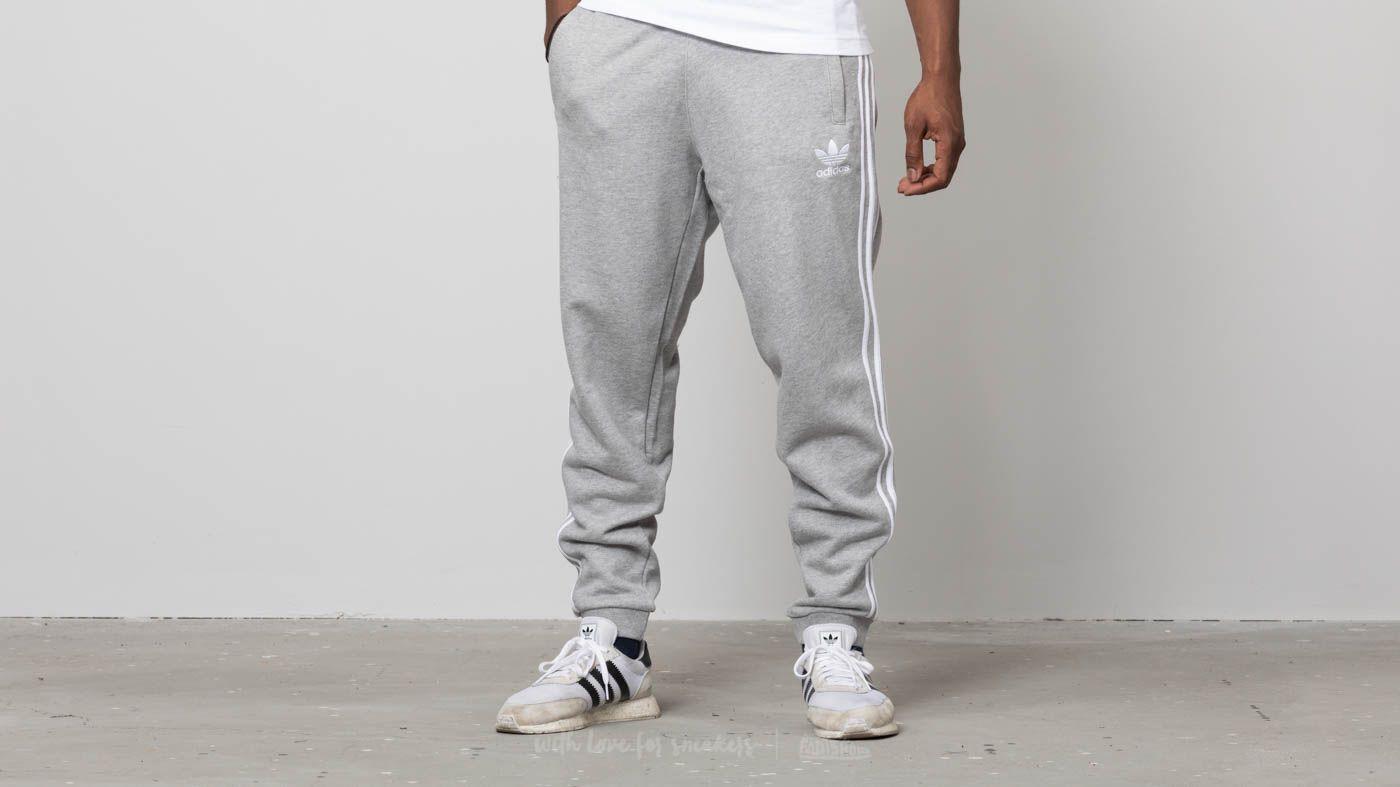 df8b781a6e48 adidas 3-Stripes Pants Medium Grey Heather