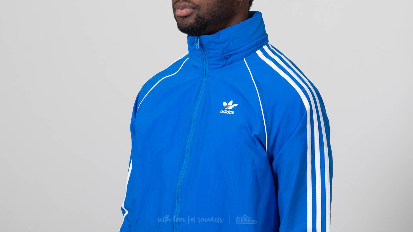 save off ec33b f3120 adidas Superstar Windbreaker Blue Bird at a great price £48 buy at Footshop
