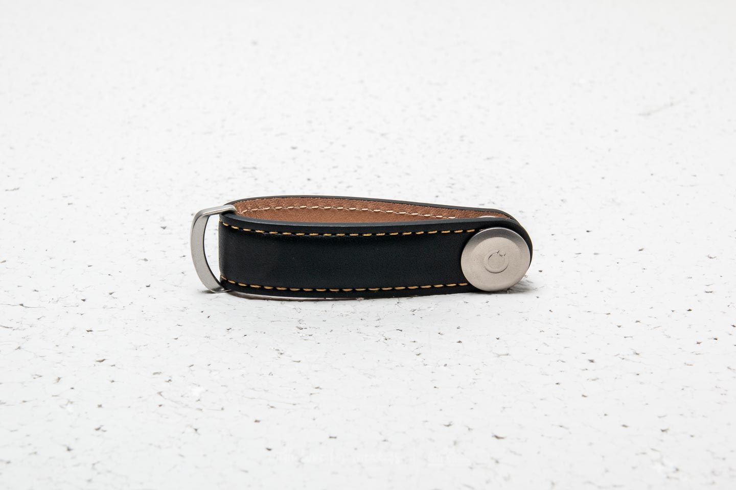 Orbitkey 2.0 Leather Black/ Tan