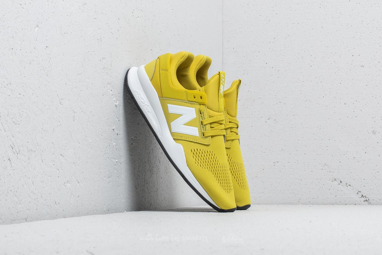 New Balance 247 Lime/ White