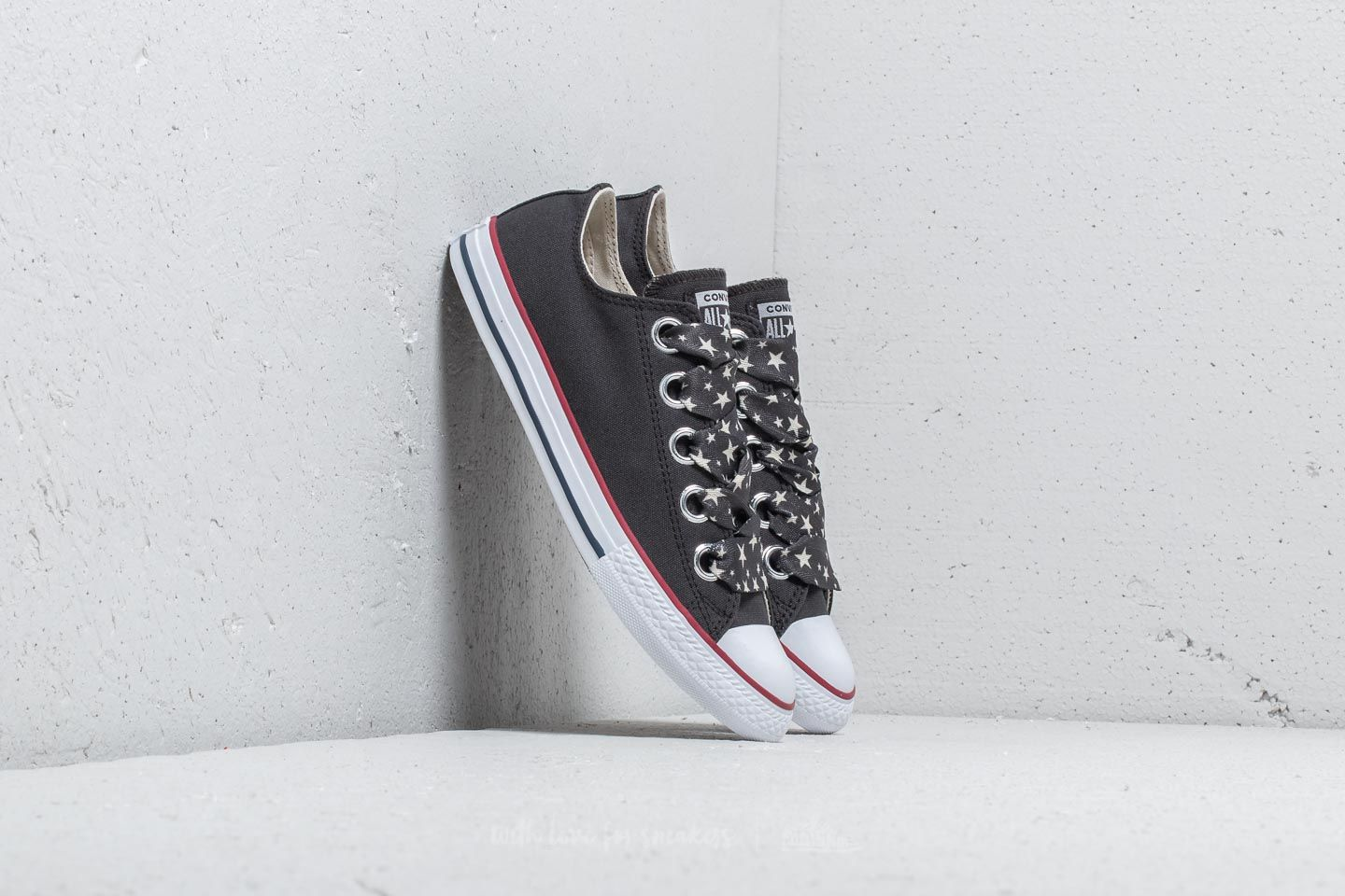541f8b8350e3e0 Converse Chuck Taylor All Star Big Eyelet Ox Almost Black  Driftwood  White  at a
