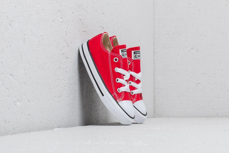661f4c407031d Converse Chuck Taylor All Star Ox I Red