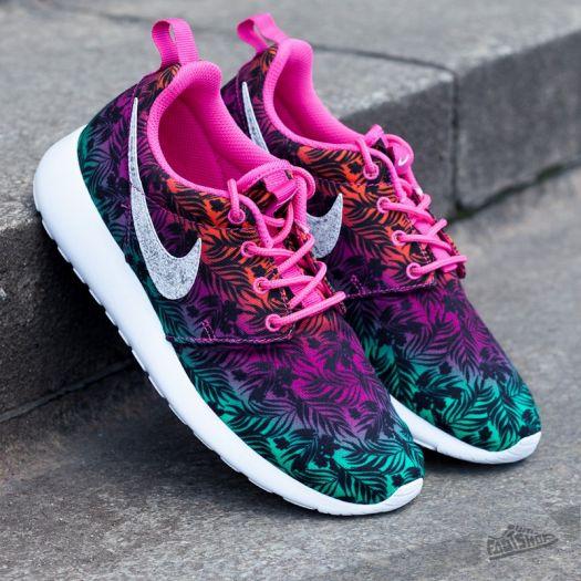 ala novato Enemistarse  Kid´s shoes Nike Rosherun Print (GS) Hot Pink/White/Total Orange