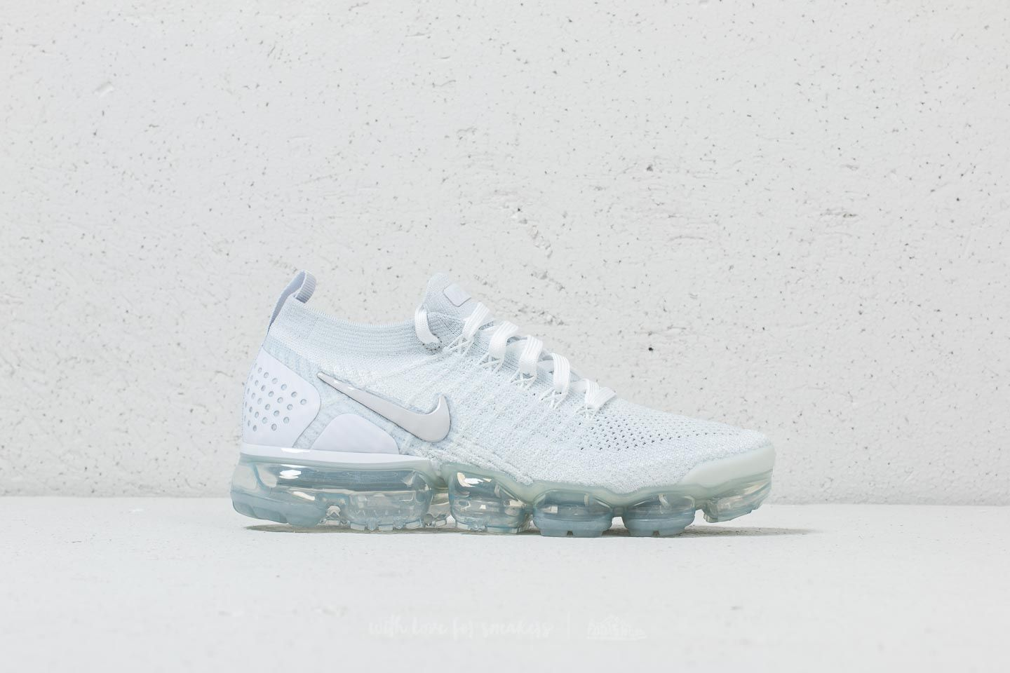 Nike Air Vapormax Flyknit 2 W White  White-Vast Grey at a great price a5a4ec541
